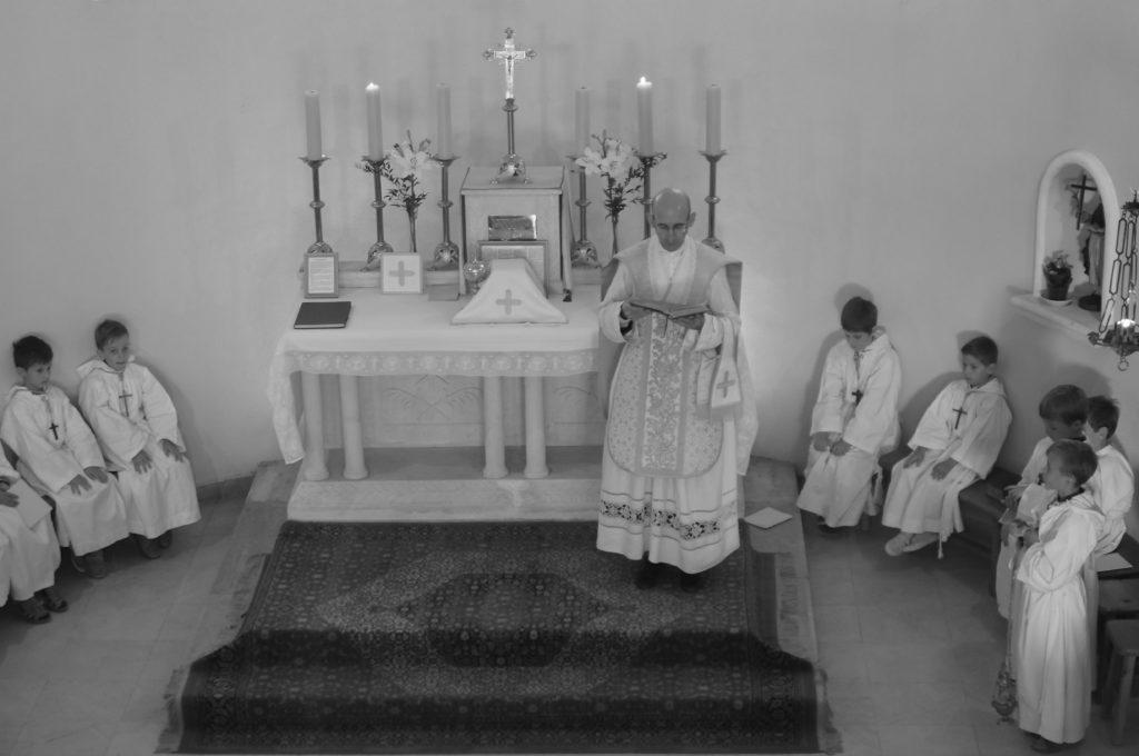 à la chapelle